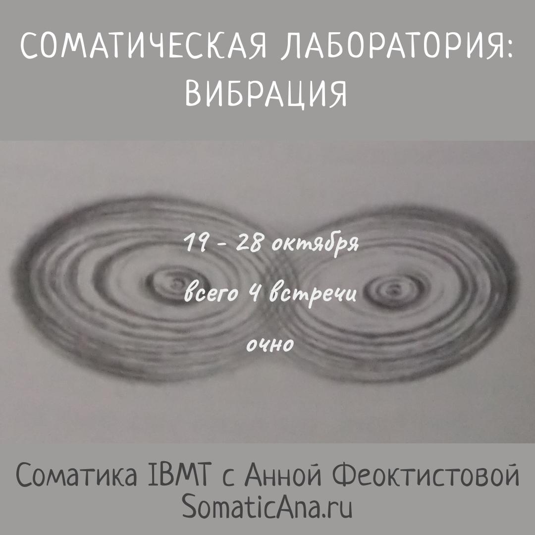 Соматическая лаборатория Вибрация Паттерн Анна Феоктистова соматика IBMT